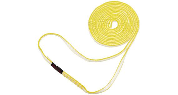 Mammut Contact Corde e fettucce 8.0 180cm giallo/bianco
